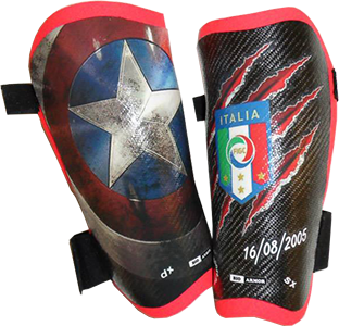 CUSTOM SHINGUARDS