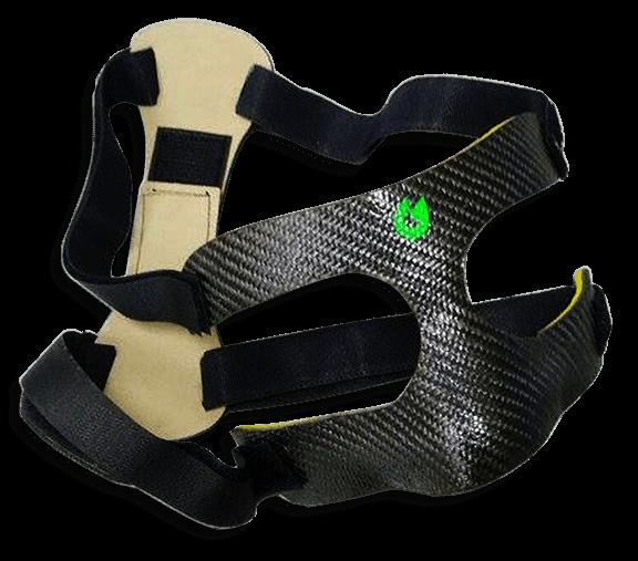 mascherina di protezione per calciatori